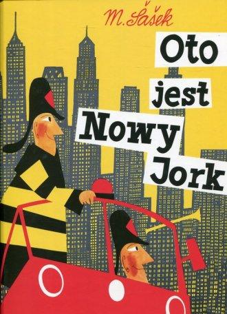Oto jest Nowy Jork - okładka książki
