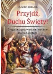 Przyjdź, Duchu Święty! Droga przygotowania - okładka książki