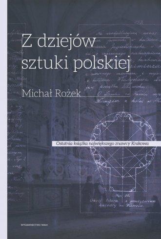 Z dziejów sztuki Polskiej - okładka książki