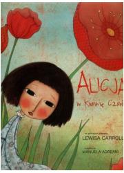 Alicja w Krainie Czarów (gąbka) - okładka książki