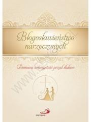 Błogosławieństwo narzeczonych - okładka książki