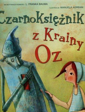 Czarnoksiężnik z Krainy Oz (gąbka) - okładka książki