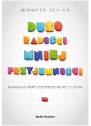 Dużo radości mniej przyjemności - okładka książki