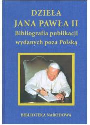 Dzieła Jana Pawła II Bibliografia - okładka książki