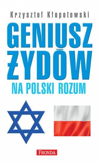 Geniusz Żydów na polski rozum - okładka książki