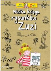 Wielka księga rysunków Zuzi - okładka książki