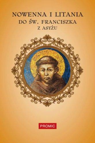 Nowenna i litania do św. Franciszka - okładka książki