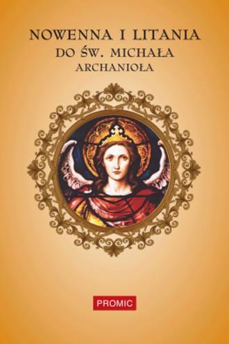 Nowenna i litania do św. Michała - okładka książki