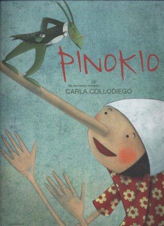 Pinokio (gąbka) - okładka książki