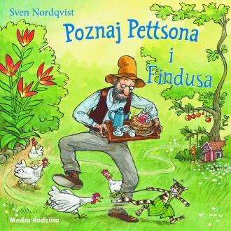 Poznaj Pettsona i Findusa - okładka książki