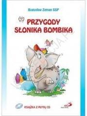 Przygody słonika Bombika (+ CD) - okładka książki