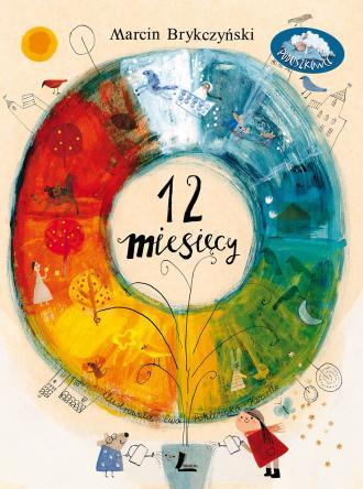 12 miesięcy - okładka książki