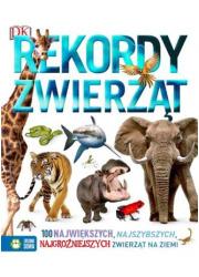 Rekordy zwierząt - okładka książki