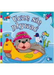 Uczę się pływać. Książeczka kąpielowa - okładka książki