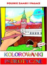 Zamki i pałace. Kolorowanki patriotyczne - okładka książki
