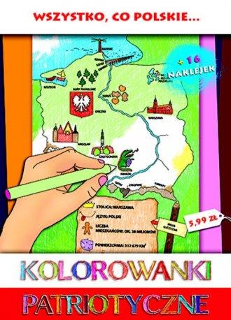 Wszystko co Polskie. Kolorowanki - okładka książki