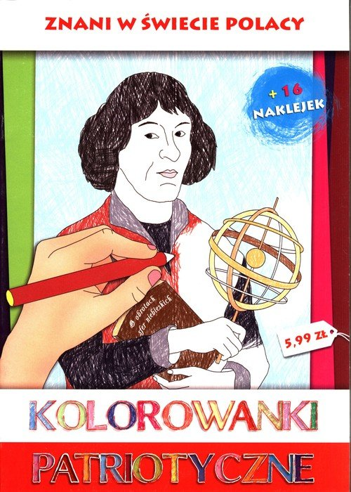 Znani w świecie Polacy. Kolorowanki - okładka książki