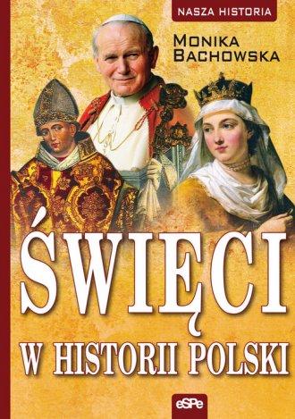 Święci w historii Polski - okładka książki