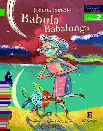 Czytam sobie. Poziom 2. Babula - okładka książki