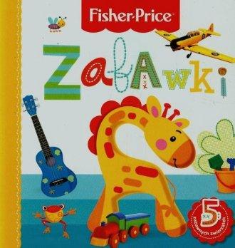 Zabawki. Fisher Price - okładka książki