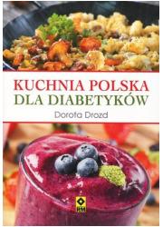 Kuchnia polska dla diabetyków - okładka książki