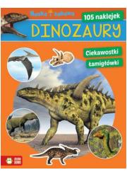 Dinozaury. Nauka i zabawa - okładka książki