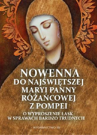 Nowenna do Najświętszej Maryi Panny - okładka książki
