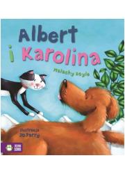 Albert i Karolina. Poczytajmy razem - okładka książki