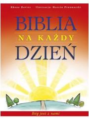 Biblia na każdy dzień. Bóg jest - okładka książki