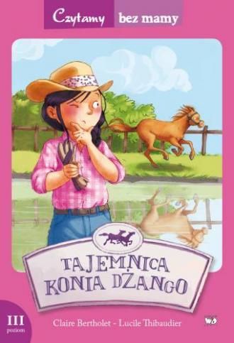 Tajemnica konia Dżango (3 etap - okładka książki