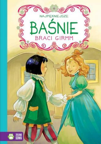 Najpiękniejsze baśnie braci Grimm - okładka książki
