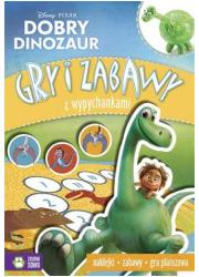 Dobry Dinozaur. Gry i zabawy z - okładka książki