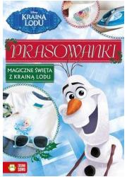 Prasowanki świąteczne Kraina Lodu - okładka książki