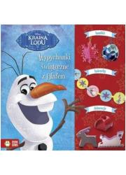 Wypychanki świąteczne z Olafem - okładka książki
