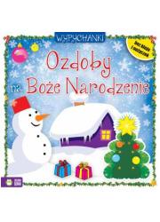 Ozdoby na Boże Narodzenie - okładka książki