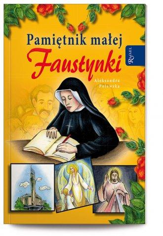 Pamiętnik małej Faustynki - okładka książki