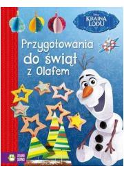 Przygotowania do świąt z Olafem - okładka książki