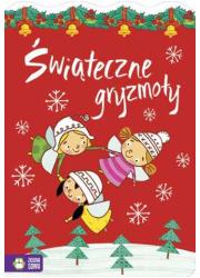 Świąteczne gryzmoły - okładka książki