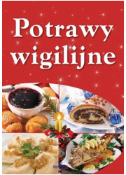Potrawy wigilijne - okładka książki