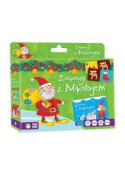 Zabawy z Mikołajem - okładka książki