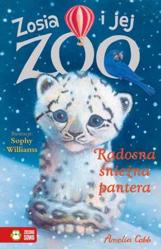 Radosna śnieżna pantera. Zosia - okładka książki