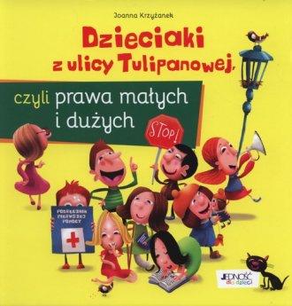 Dzieciaki z ulicy Tulipanowej, - okładka książki
