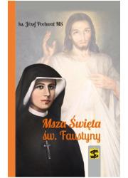 Msza Święta św. Faustyny - okładka książki