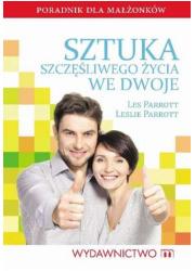 Sztuka szczęśliwego życia we dwoje - okładka książki