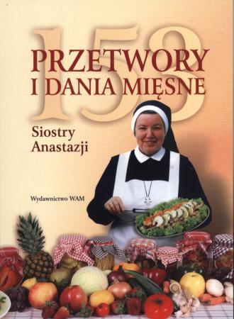 153 przetwory i dania mięsne Siostry - okładka książki