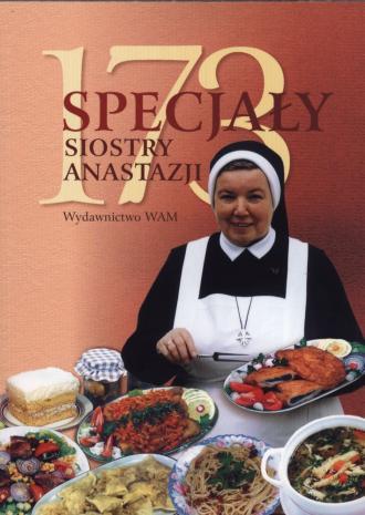 173 specjały siostry Anastazji - okładka książki