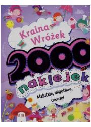 Kraina Wróżek. 2000 naklejek - okładka książki
