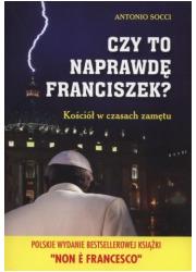 Czy to naprawdę Franciszek? Kościół - okładka książki