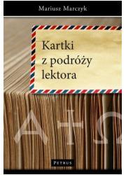 Kartki z podróży lektora - okładka książki