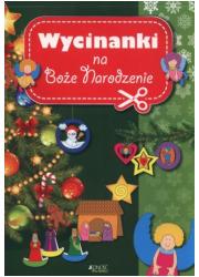 Wycinanki na Boże Narodzenie - okładka książki